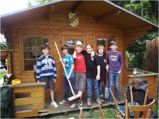 Unsere Jugendhütte